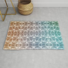 Dusty Floral  Pattern Rug