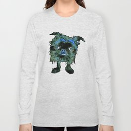 Lugga The Friendly Hairball Monster For Boos Long Sleeve T-shirt