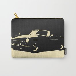 MGB, Black on Cream Carry-All Pouch