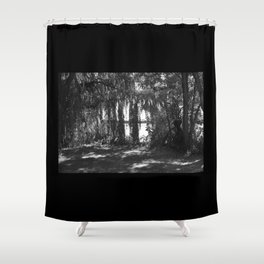 The Stage Is Set Shower Curtain