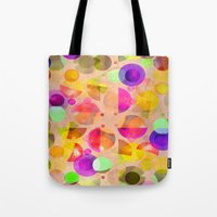 candy Tote Bags featuring Candy by SensualPatterns
