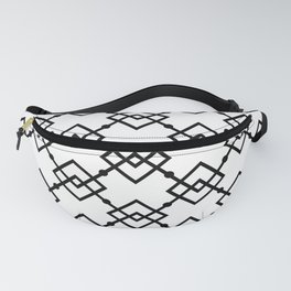 Black and white 1 Fanny Pack