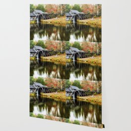 Mabry Mill Autumn Wallpaper