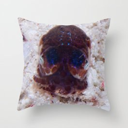 Bobtail squid Throw Pillow