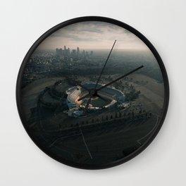 Los Angeles Stadium and Skyline Wall Clock