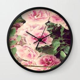 SEPTEMBER ROSE Wall Clock
