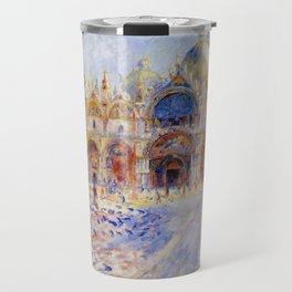 "Auguste Renoir ""The Piazza San Marco, Venice"" Travel Mug"