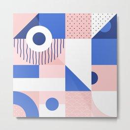 Japanese Patterns 12v Metal Print