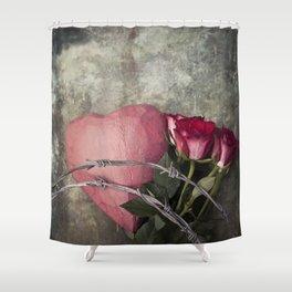 Heartbreak Shower Curtain