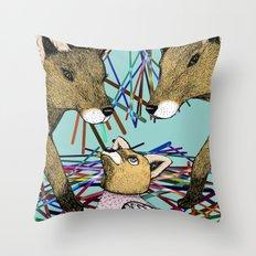 Cunning Disguise Throw Pillow