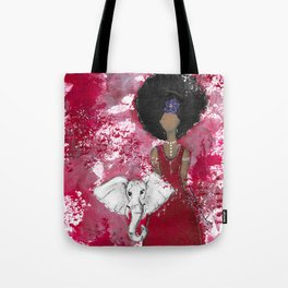 Delta Angel Tote Bag