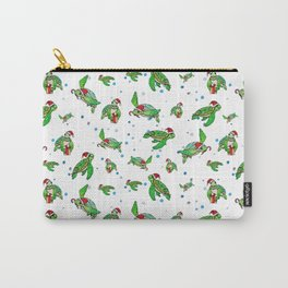 Holiday Sea Turtles Carry-All Pouch