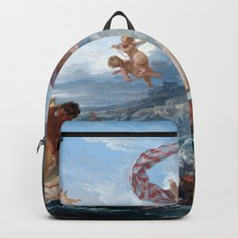 The Triumph of Venus - Francois Boucher Backpack
