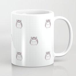 Cute Hamster Pattern Illustration Coffee Mug