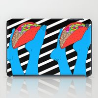 taco iPad Cases featuring Taco Time by Tyler Spangler