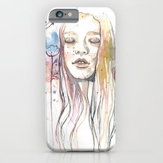 Meditation, watercolor  Slim Case iPhone 6s