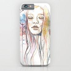 Meditation, watercolor  Slim Case iPhone 6s