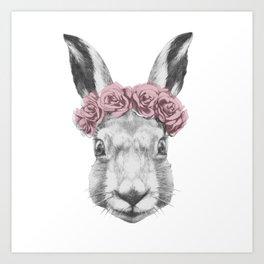 Hare Art Print