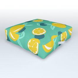 Lemon dots #society6 #decor #buyart Outdoor Floor Cushion
