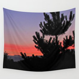 July Sunrise over London Wall Tapestry