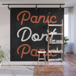 Don't Panic - Type Wall Mural