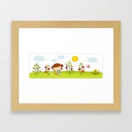 Orchard Framed Art Print