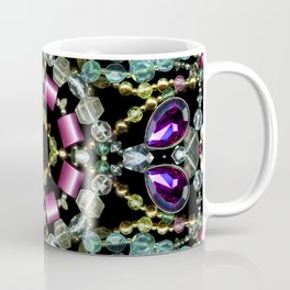 Bling Jewel Kaleidoscope Scanography Coffee Mug