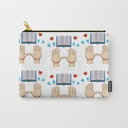 My Favorite Book Emoji Carry-All Pouch