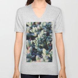Succulent Fleshy Plant Unisex V-Neck