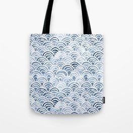 Indigo Oriental Sea Tote Bag