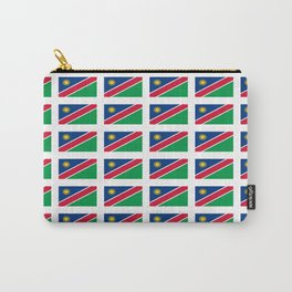 Flag of namibia-namibia,namibian,Windhoek,namibio,Namibiese. Carry-All Pouch