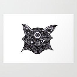 Dream Cat Art Print
