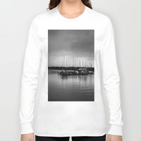 boats Long Sleeve T-shirts featuring Boats by Sofleecori