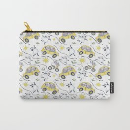 Sheep in Cars Carry-All Pouch