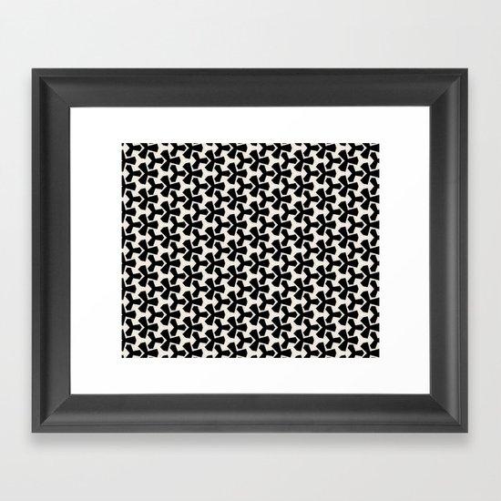 Van Klaveren Pattern Framed Art Print