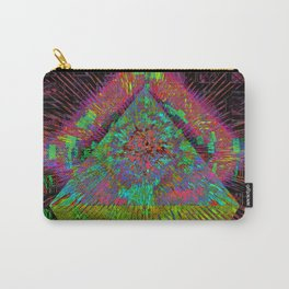 Gold Pyramid Landing Carry-All Pouch