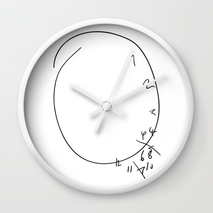 Visuospatial Wall Clock By Brucelovesyou