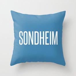 SONDHEIM Throw Pillow