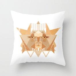 leothelion Throw Pillow