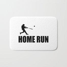 home run baseball sports hobby Bath Mat