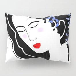 Sleeping Flower Pillow Sham