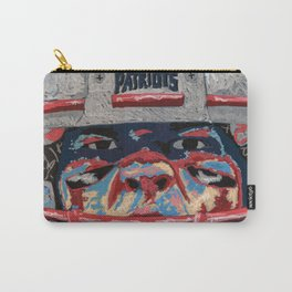 T brady face Carry-All Pouch