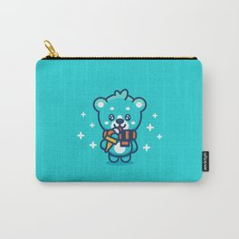 Ice Cream Bear Carry-All Pouch