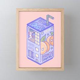 Peach Motel Framed Mini Art Print