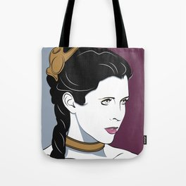 80s Princess Leia Slave Girl Tote Bag