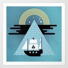 Born to Explore Pt4 Art Print