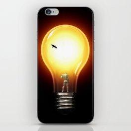 lost in the dark iPhone Skin