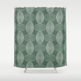Op Art 66 Shower Curtain