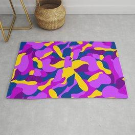 CAMOUFLAGE - pattern purple Rug