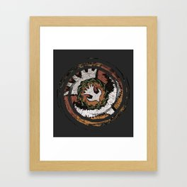 The Holy Dove & Crown Of Thorns Framed Art Print